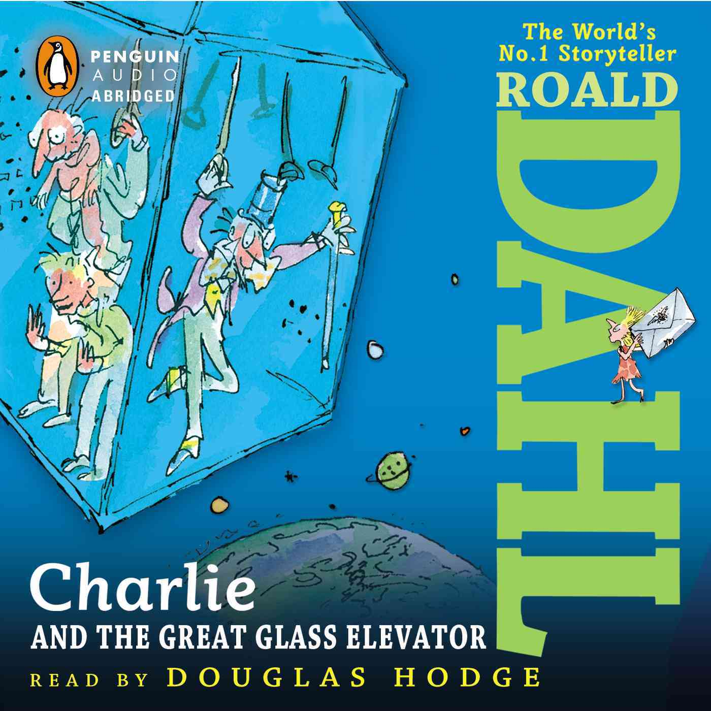[CD] Charlie and the Great Glass Elevator By Dahl, Roald/ Hodge, Douglas (NRT)